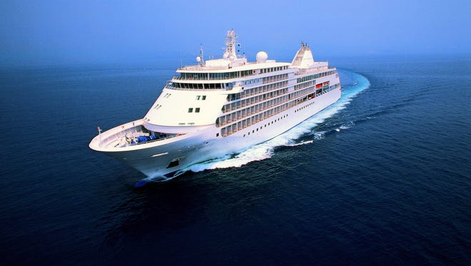 Silversea's Silver Whisper embarks from Los Angeles on January 6 for a 113-day world cruise featuring 54 port calls in 29 countries.