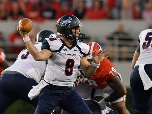 NCAA Football: Samford at Georgia