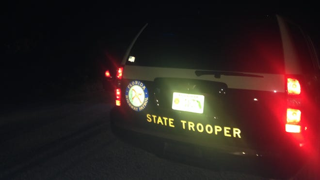 Florida Highway Patrol said a man attempting to cross Interstate 75 near mile marker 131 died Thursday night when he was hit by a car.