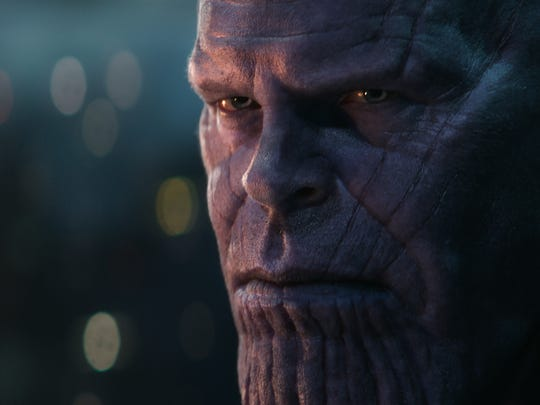 "Thanos (Josh Brolin) did a number on the galaxy in ""Avengers: Infinity War,"" but will be back in the fourth ""Avengers"" film next year."