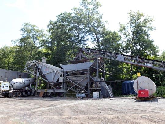 Co-Mix Concrete, a concrete-plant located on Sterling