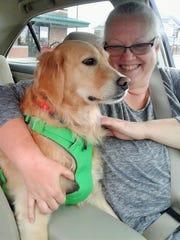 Kristie Fortmann-Doser of Solon cherishes her rescue