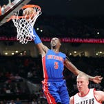 KCP's triple lifts Pistons over Blazers, 125-124, in double overtime