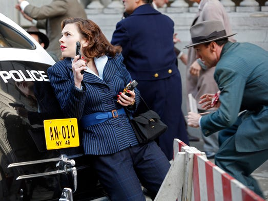 """HAYLEY ATWELL in the season finale of """"Marvel's Agent"""