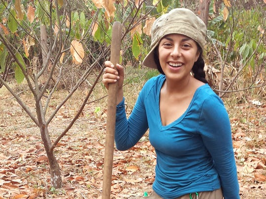 Sativa Cruz graduated with university honors with a bachelor's degree in environmental science and a minor in sustainable development in May 2016. While at NMSU, Cruz received a grant from the New Mexico Water Resources Research Institute to set up an irrigation system for cocoa tree farmers in Colombia.