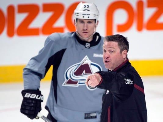 Avalanche Roy Hockey