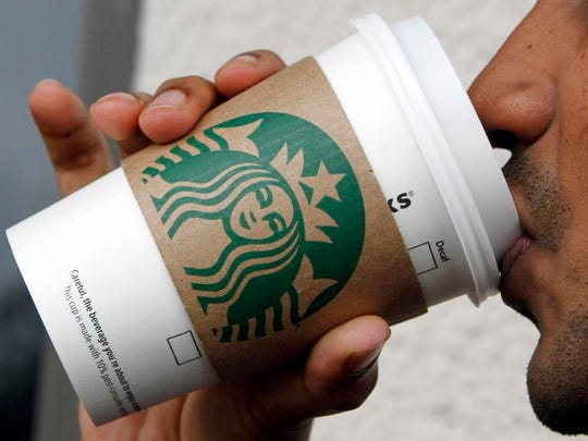 A Starbucks coffee counter opened Monday at Mid-State Technical College in Wisconsin Rapids.