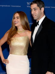 Actress Sofia Vergara and Nick Loeb in happier days,