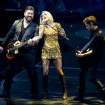 Carrie Underwood performs during The Storyteller Tour at Talking Stick Resort Arena in Phoenix on April 14, 2016.