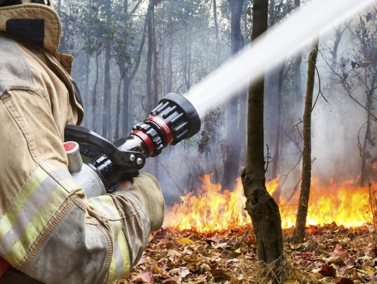 #stockphoto - fire fighter
