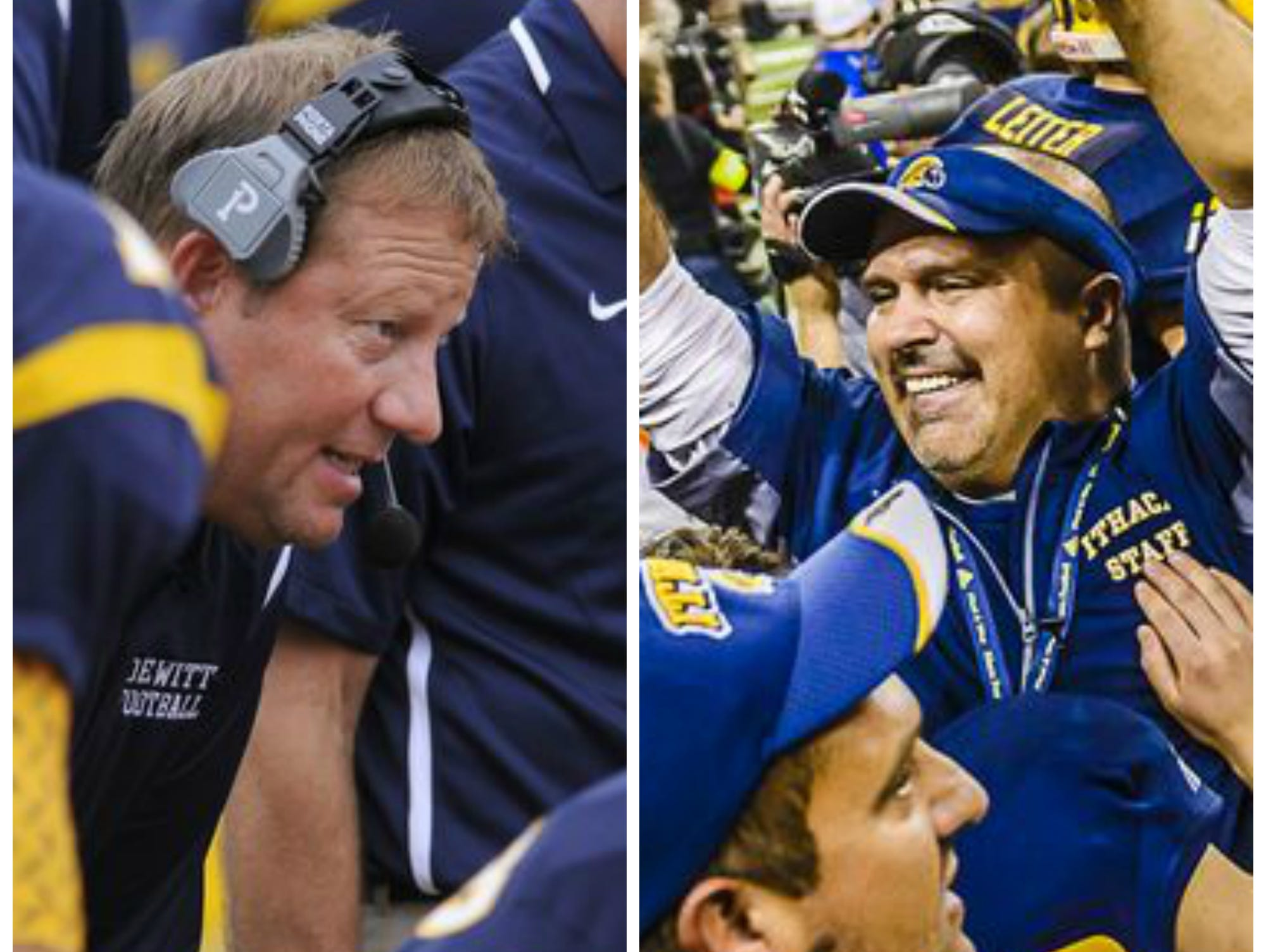 DeWitt's Rob Zimmerman and Ithaca's Terry Hessbrook will be inducted into the Michigan High School Football Coaches Association Hall of Fame next month.