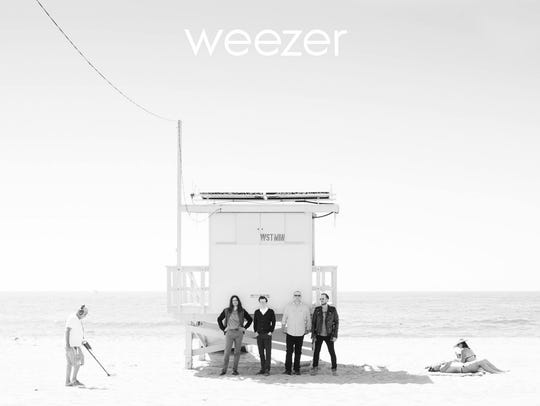 The cover to the 10th Weezer record, a self-titled