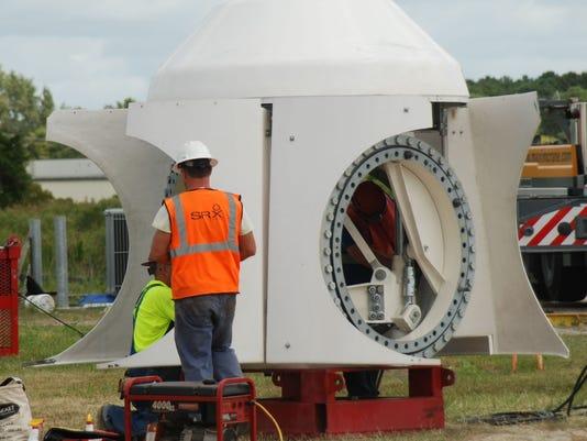 turbine hub crisfield