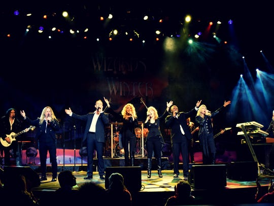 The Wizards of Winter put six vocalists front and center
