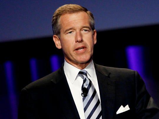 "Brian Williams, anchor and managing editor of ""NBC"