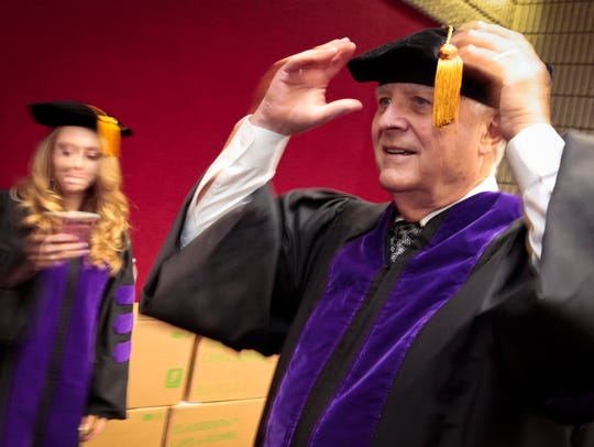 Jim Edwards recently graduated Nashville School of
