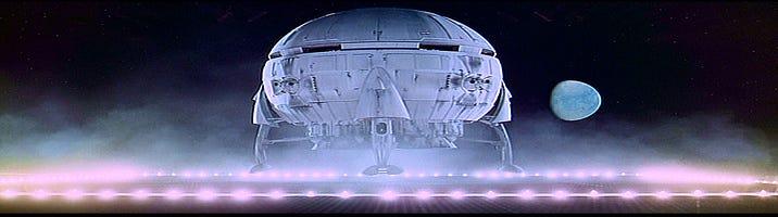 Kubrick's '2001' shuttle