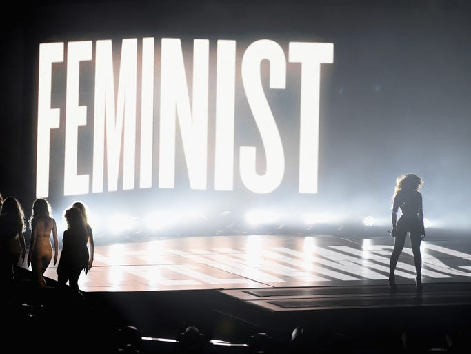 Oh, and remember when she brought feminism back to the big show?<p><br /></p> <br /><p><br /></p>