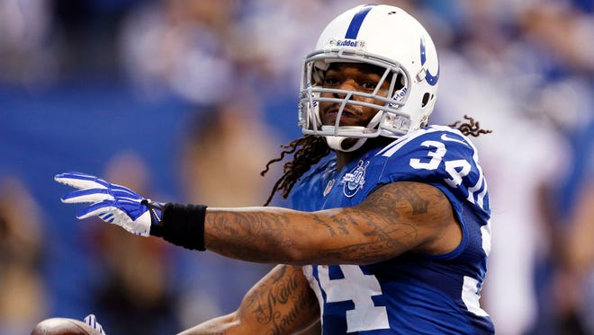 Trent Richardson had a touchdown reception last week, his first score since Sept. 29.