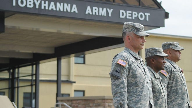 Tobyhanna Army Depot on Thursday, July 12, 2012.