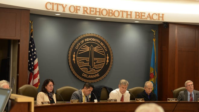 The City of Rehoboth Beach, Town Commissioners met on Monday, Nov. 6, 2017 in the new City Hall Complex in Rehoboth Beach, Del.