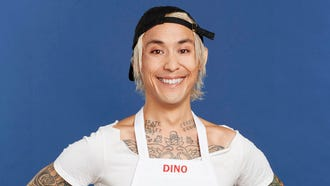 """This is Dino Luciano from Bensonhurst, New York, chef of Muse and Market. He won season 8 of """"MasterChef,"""" a cooking competition TV show on FOX. He was the first vegan chef to do so."""