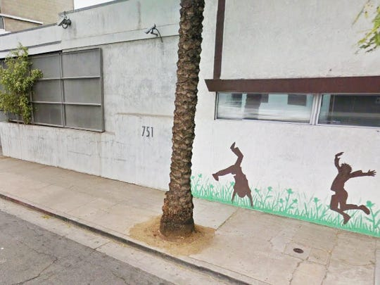 The DEA arrested fugitive Mark Jones's roommate, Carl Washington, at this Los Angeles apartment in August 2012.