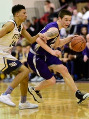 Brandon Trolio scored 11 points Friday in his final game for Ross.