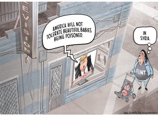 Trump's bright red line