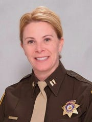 Capt. Kelly McMahill leads the Internal Oversight and Constitutional Policing bureau at Las Vegas Metro Police Department. Her department had issues with excessive use of force in the past, but has worked to correct those issues, McMahill said. She thinks police departments should include the community in the conversation when trying to make improvements.