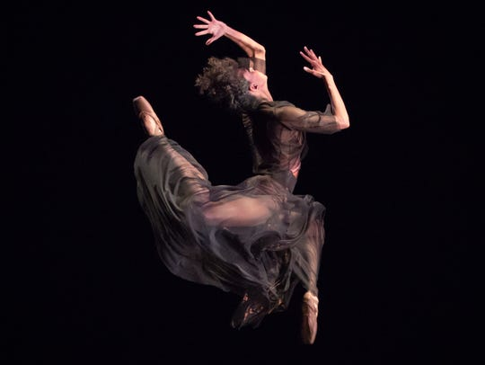Company member Lindsey Croop is seen here in Dance