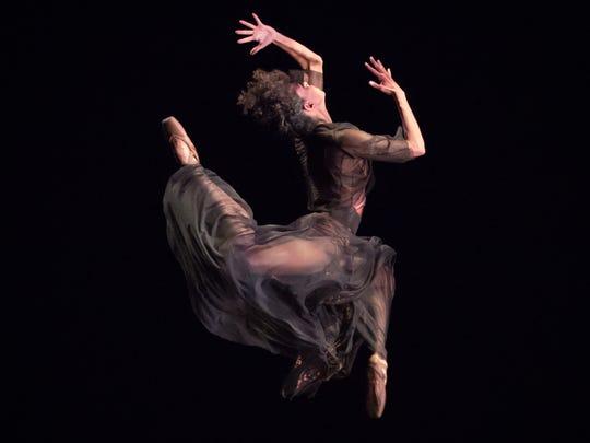 Company member Lindsey Croop is seen here in Dance