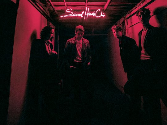 """This cover image released by Columbia Records shows """"Sacred Hearts Club"""" by Foster the People. (Columbia Records via AP)"""