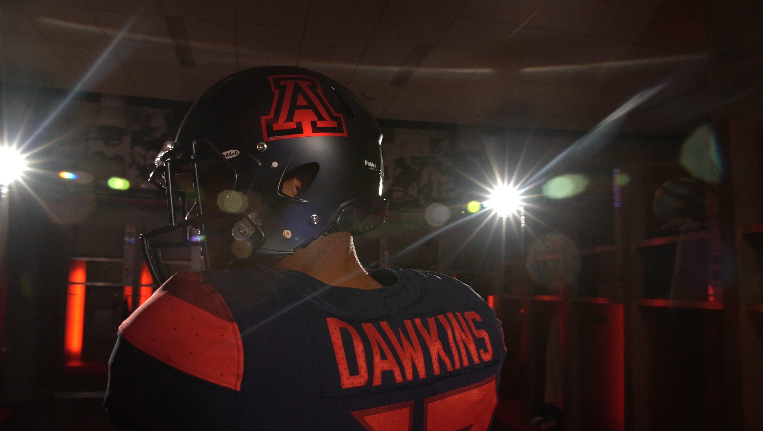 dbc27609d ... Arizona Wildcats unveil new football uniforms for 2017 ...