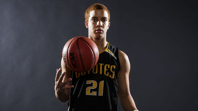 Kris Lamberson is the small schools boys basketball player of the year.