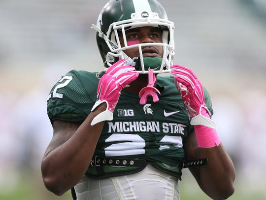 Michigan State's Delton Williams bought a gun for self-defense but brandished it unwisely. He nearly lost his career with the team.