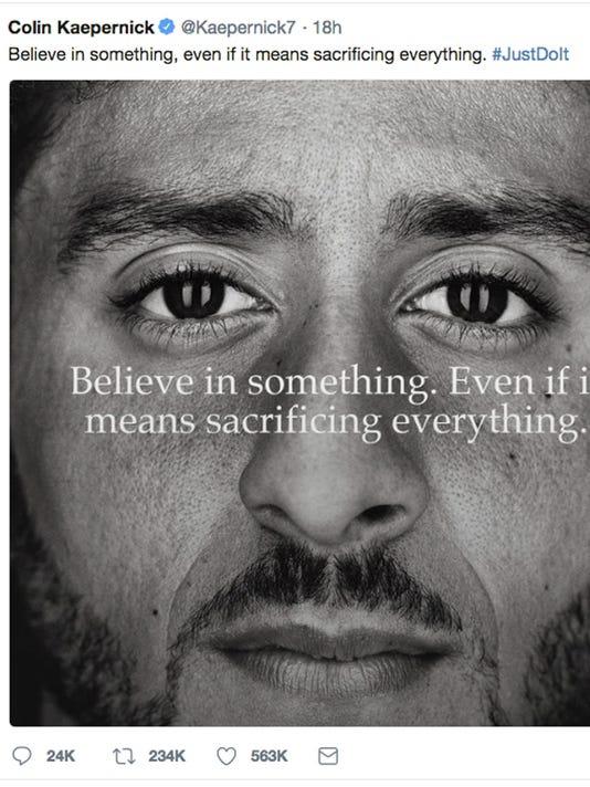 Kaepernick Nike