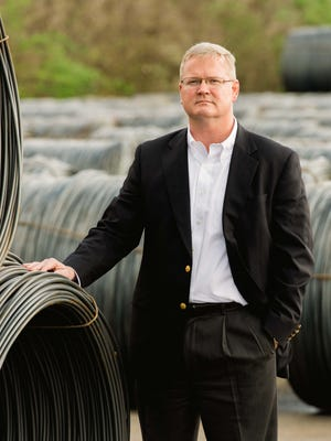 Nashville Wire Products Co. CEO Steve Rollins is among investors that own 2,500 acres along the Mississippi River in Arkansas.