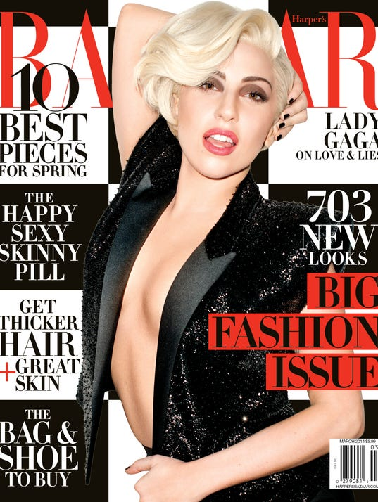 HBZ Lady Gaga NS Cover