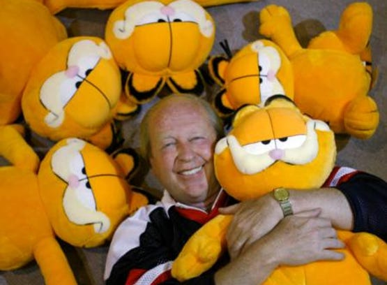 """""""Garfield"""" creator Jim Davis"""