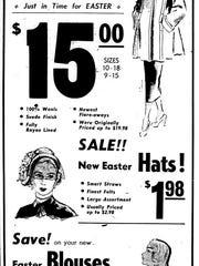 1948 clothing ad