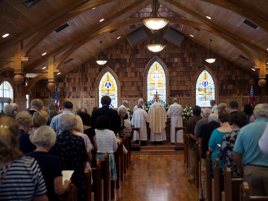Dedication of the new St Elisabeth's Chapel-by-the Sea in Ortley Beach, NJ on July 23, 2017.