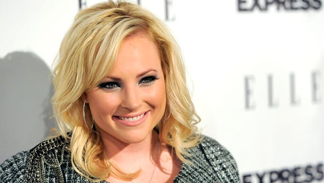 """This Oct. 7, 2010 file photo Meghan McCain arrives at the ELLE and Express """"25 at 25"""" event in West Hollywood, Calif."""