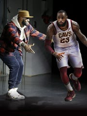 "While many may think LeBron James has ""gone Hollywood,"""