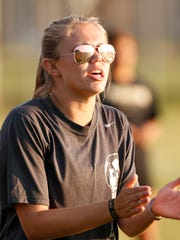 After two seasons coaching Harrison's girls soccer program, Katie Bittner resigned to pursue a master's degree.
