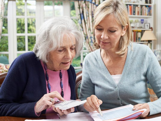 helping out mom or dad with a joint checking account