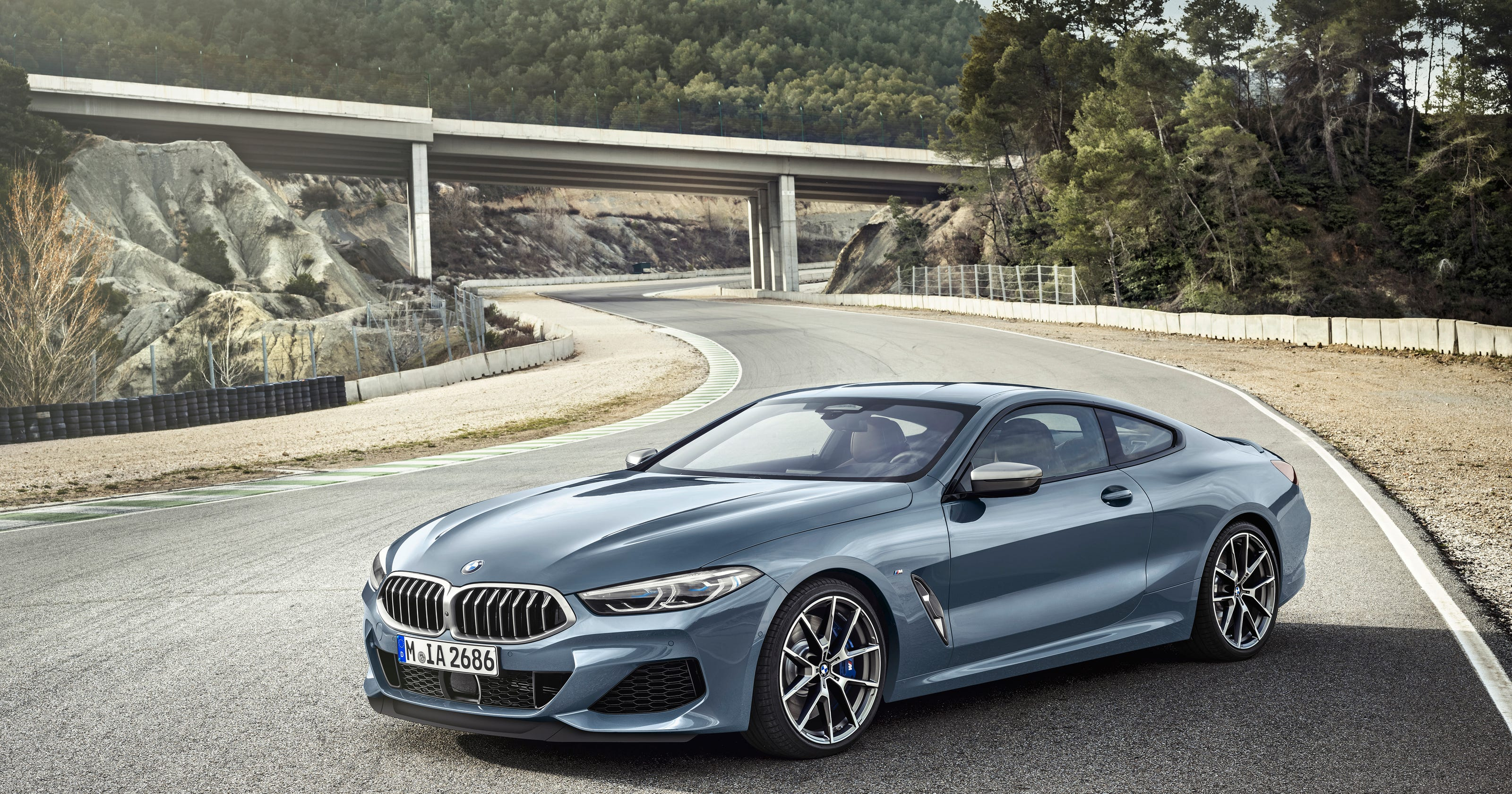 Bmw Reveals All New 8 Series Coupe 523 Horse And 155 Mph