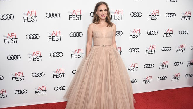 Natalie Portman attends a special screening of Vox Lux at the Egyptian Theatre in Los Angeles.
