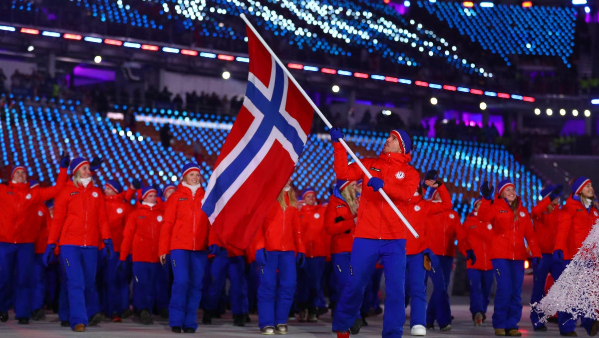 Sensitive to eating disorders, Norway does not list weights of Winter Olympic athletes