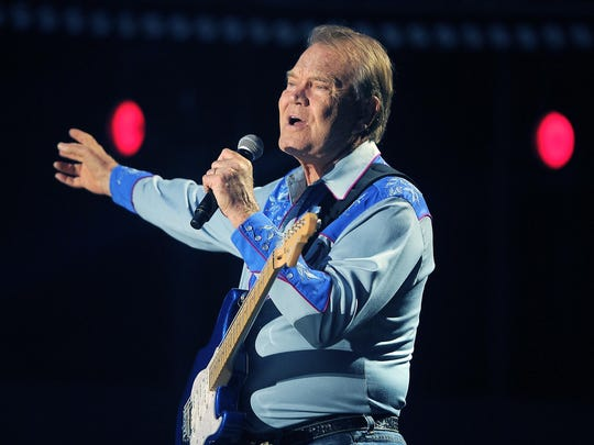 Glen Campbell died Aug. 8, 2017, after a public battle with Alzheimer's.